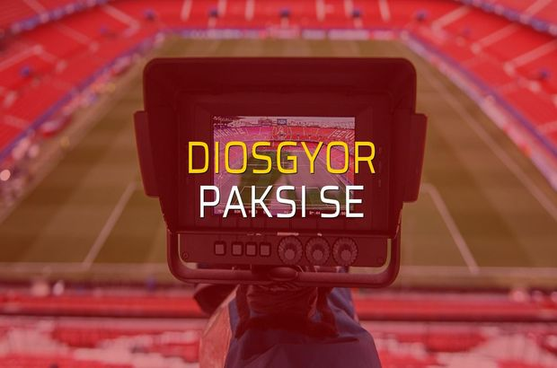 Diosgyor - Paksi SE maçı heyecanı