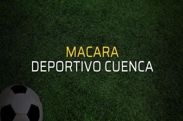 Macara - Deportivo Cuenca karşılaşma önü