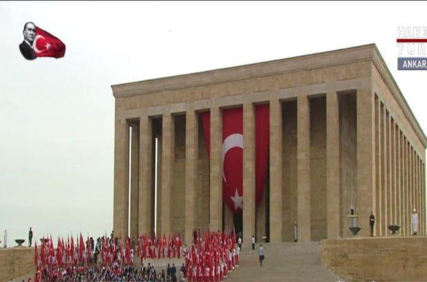 81 ilden gençler Anıtkabir'deydi