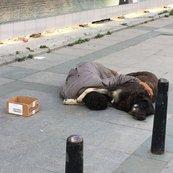 Taksim'de yürekleri sızlatan olay!