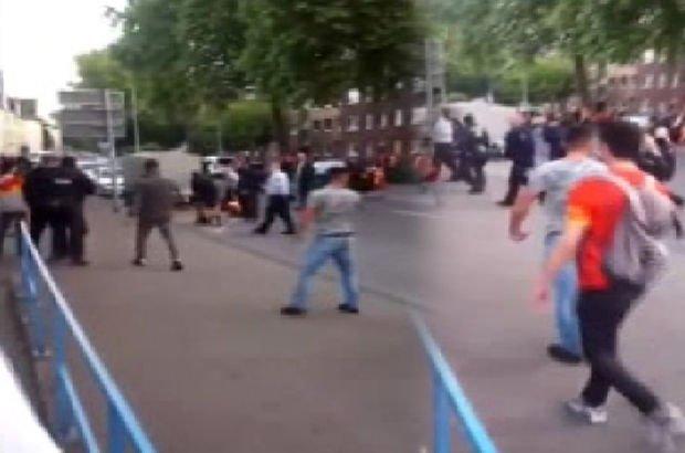 Galatasaraylı taraftar, Almanya'da saldırıya uğradı!