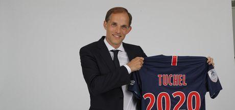 Thomas Tuchel resmen PSG'de!