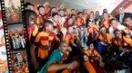 Galatasaray şampiyonluk kupasını kaldırdı!