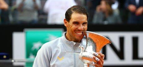 Nadal, Roma Açık'ta 8. kez şampiyon