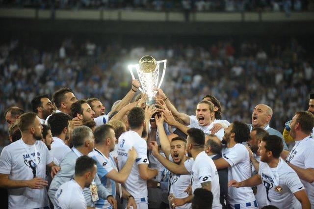Büyükşehir Belediye Erzurumspor'un şampiyonluk serüveni
