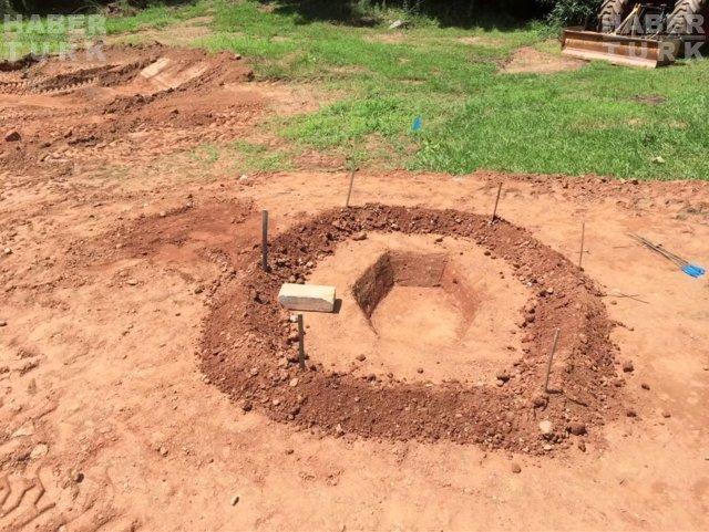 Bir günde bahçesini bambaşka bir yer haline getirdi!
