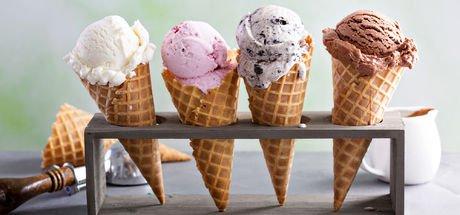 Dondurma külahının kalorisi bir dilim ekmeğe eşit! Peki dondurma kaç kalori?