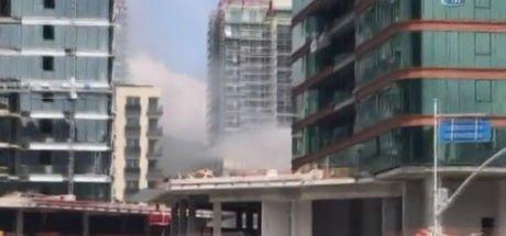 Son dakika: Sarıyer'de lüks sitede yangın