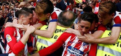 Fernando Torres'in Atletico Madrid'e vedasında duygusal anlar yaşandı!