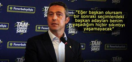 """Ali Koç: """"Özlenen Fenerbahçe için yola çıktık"""""""