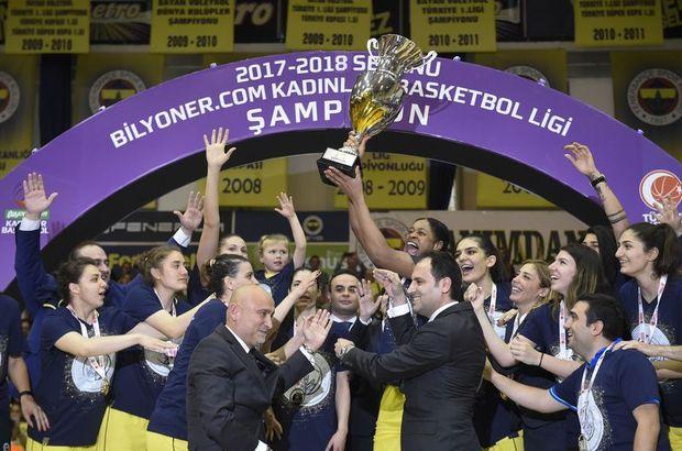 SON DAKİKA! Fenerbahçe, Kadınlar Basketbol Ligi'nde şampiyon
