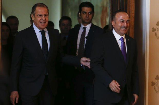 Çavuşoğlu, Rus mevkidaşıyla görüştü!