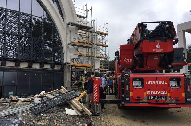 Son dakika: İstanbul Teknik Üniversitesi'nde yangın