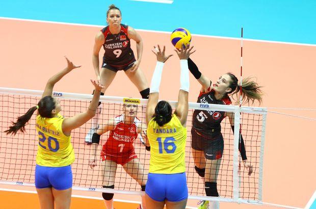 Türkiye: 1 - Brezilya: 3