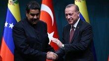 Erdoğan'dan Venezuela Devlet Başkanı'na tebrik