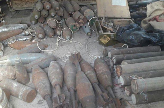 Son dakika: Afrin'de yeni mühimmat deposu bulundu