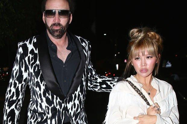 Nicolas Cage ile sevgilisi Erika Koike, Los Angeles'ta görüntülendi - Magazin haberleri