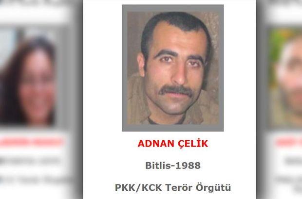İçişleri Bakanlığı: Gri listedeki terörist etkisiz hale getirildi