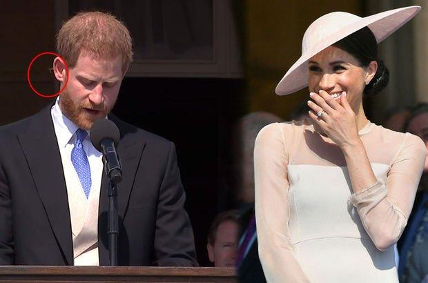 Şansın böylesi! Prens Harry'i katıldığı ilk etkinlikte arı soktu!
