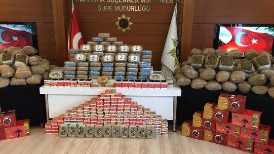 İstanbul'da uyuşturucu operasyonu! Helva ve hurma kutularından çıktı