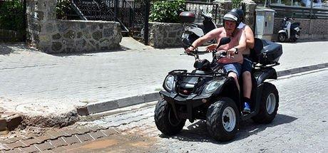 Marmaris'te şehir merkezinde ATV kullanımına yasak