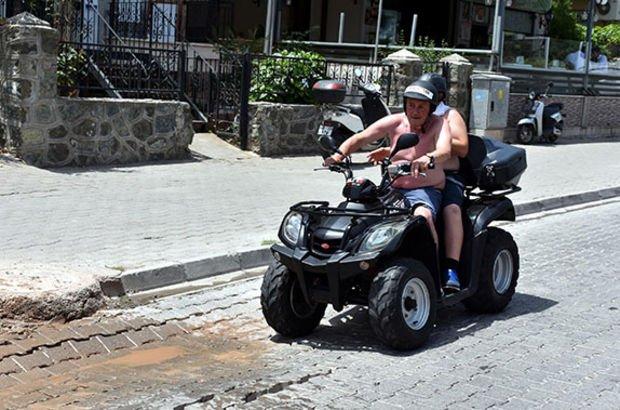 Her yere afişler asıldı... Türkiye'nin tatil cennetinde yasaklandı
