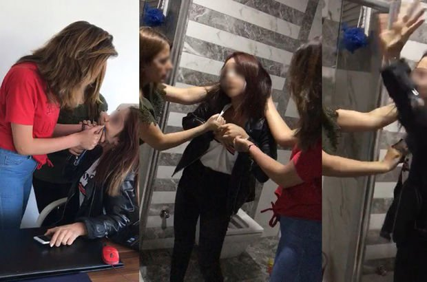 Batman'da genç kızlar sosyal medyada tartışıp iş yeri bastı
