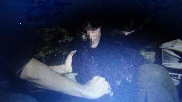 Son dakika: Çorum'da mezarlıktaki 'gizemli kız' yakalandı! İşte Çorum'daki gizemli kızın ilk fotoğrafı