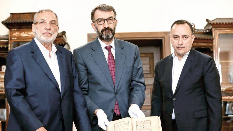 524 yıllık el yazması Kuran-ı Kerim Topkapı'da