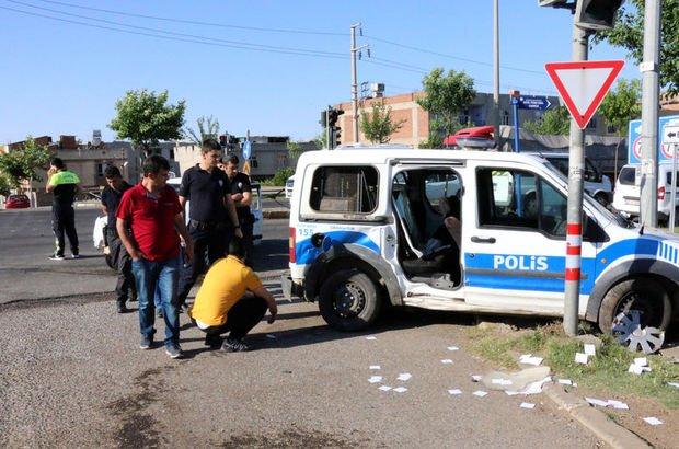 Şanlıurfa'da feci kaza! 2 polis ve 1 uzman çavuş yaralı
