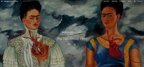 Dünyanın en geniş Frida Kahlo koleksiyonu Google Arts & Culture tarafından ziyarete açıldı