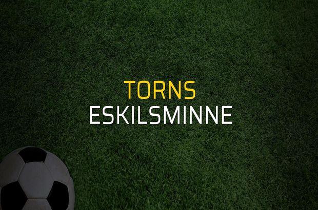 Torns - Eskilsminne maçı heyecanı