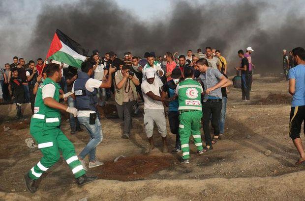 AA muhabiri Gazze sınırında İsrail askerlerinin müdahalesinde yaralandı