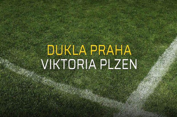 Dukla Praha - Viktoria Plzen karşılaşma önü