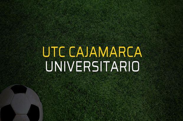 UTC Cajamarca - Universitario maçı heyecanı
