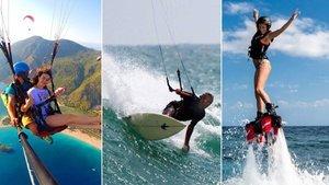 Tatil planlarınıza mutlaka eklemelisiniz! İşte en havalı 5 yaz sporu