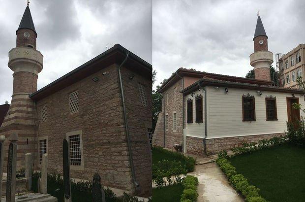 464 yıllık cami Davutağa Camii ibadete açıldı