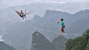 Bin 400 metre yükseklikte konser!