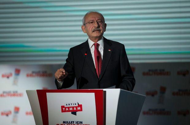 Son dakika: CHP'de seçim bildirgesi açıklandı