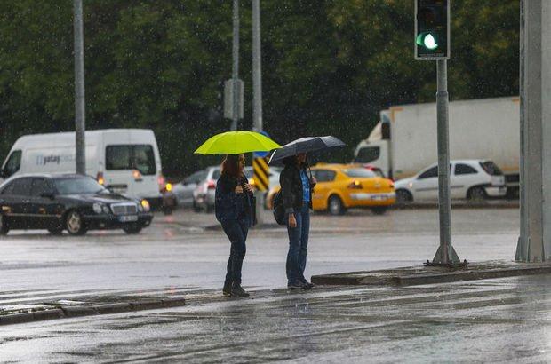 Meteoroloji'den Ankara için son dakika hava durumu uyarısı! 2 saate dikkat