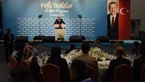 Cumhurbaşkanı Erdoğan Polis Teşkilatı iftarında konuşuyor