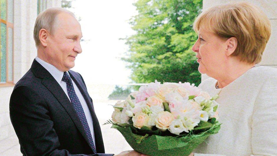 Peki Merkel Putin'e ne verdi?