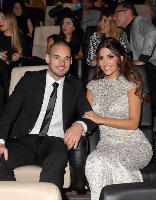 Wesley Sneijder ile Yolanthe Cabau boşanıyor mu? Açıklama geldi - Maqgazin haberleri