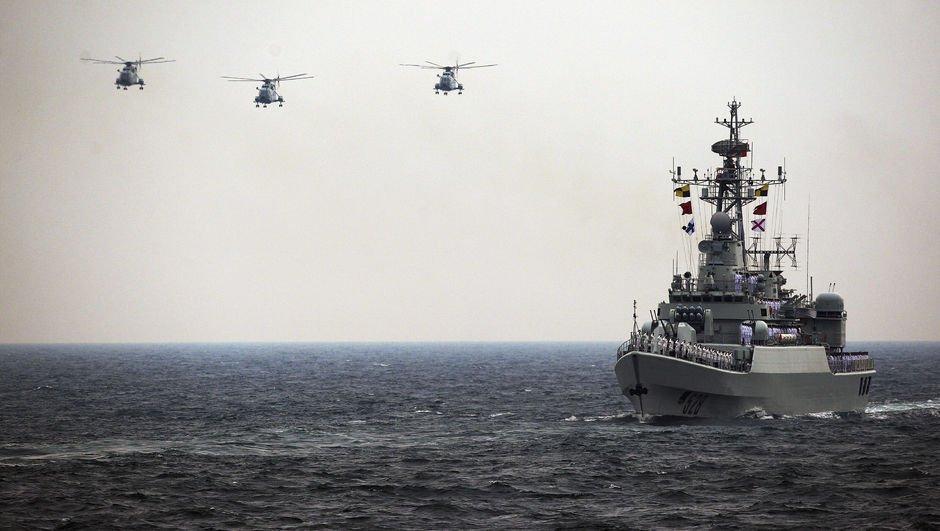 Çinden ABDye sert uyarı: Savaş gemileri sevk edildi!