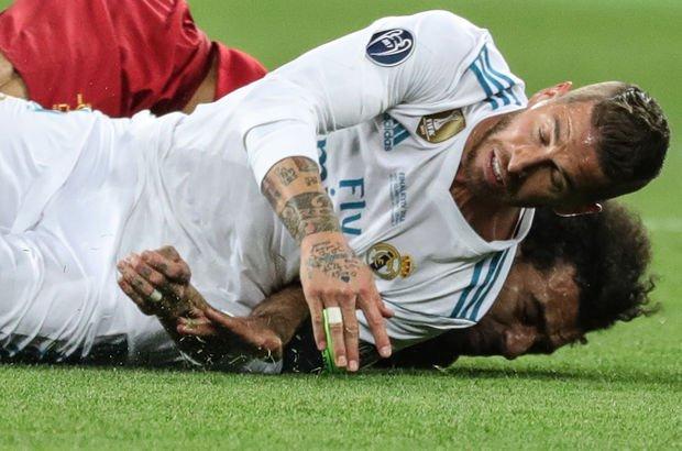 Salah'ı sakatlayan Ramos'ta şaşırtan açıklama