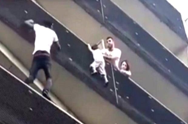 Fransa balkondan sarkan çocuğu kurtaran 'Malili kahraman örümcek adamı' konuşuyor
