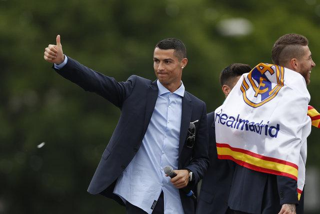 Real Madrid'in videosu ortalığı karıştırdı! Cristiano Ronaldo...