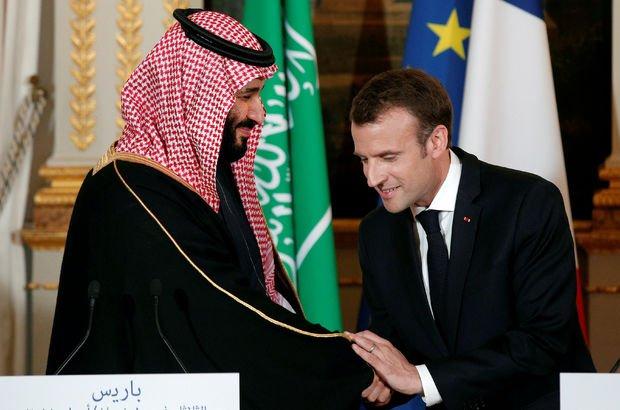 Suudi Arabistan'dan Macron'a yalanlama!