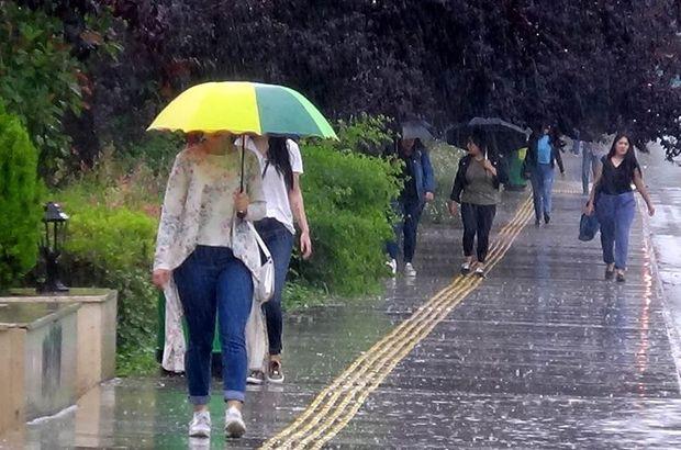 Son dakika: Meteoroloji uyarmıştı! İstanbul'da başladı... (Hava durumu)