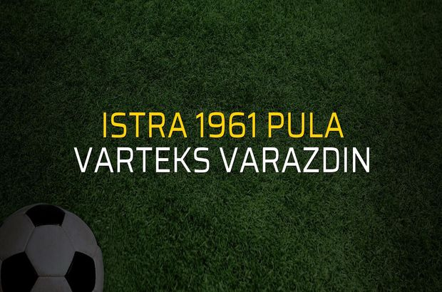 Istra 1961 Pula - Varteks Varazdin düellosu